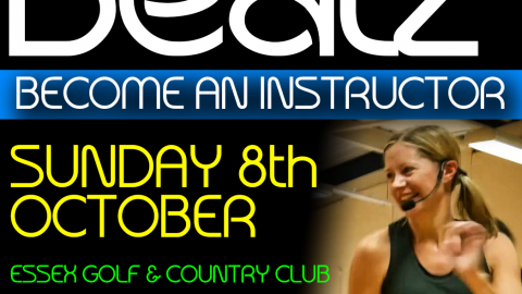 Beatz Instructor Training, 8th October in Essex