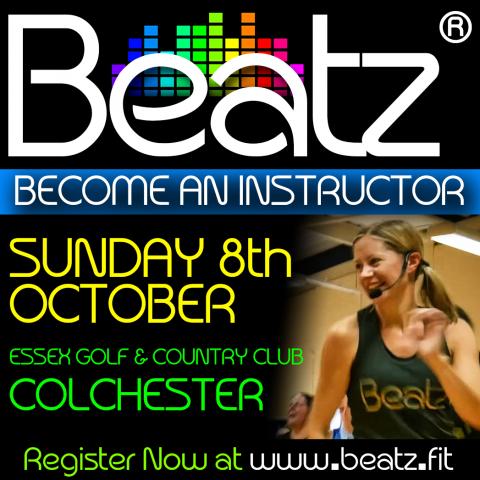 Beatz Instructor Training, 8th October in Essex