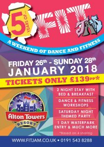 FitJam Alton Towers