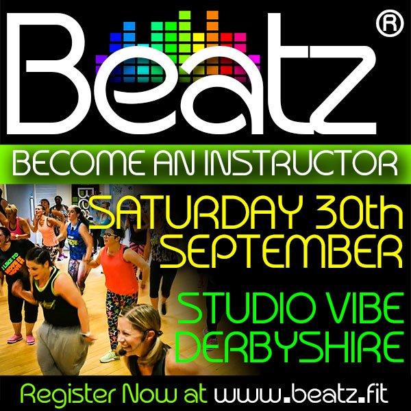 Beatz Instructor Training, 30th September in Derbyshire