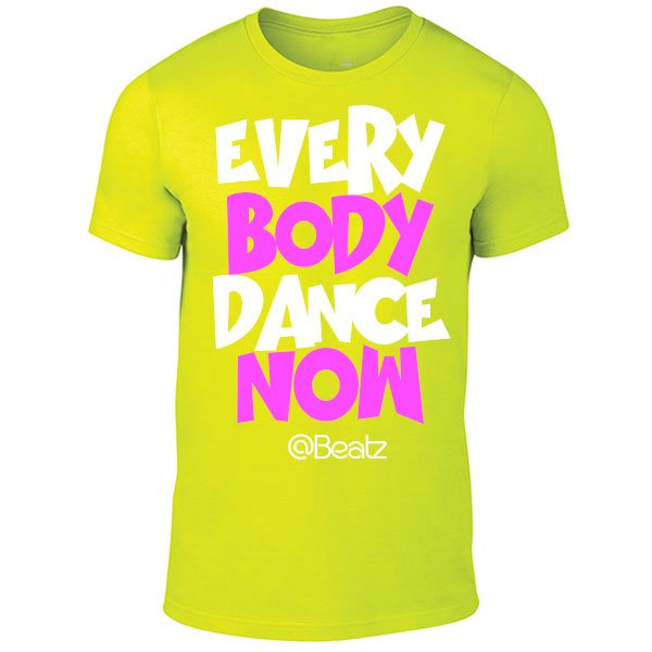 Neon Yellow Beatz T-Shirt