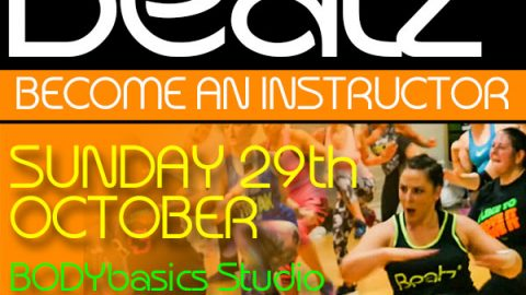 Beatz Instructor Training, 29th October in Somerset