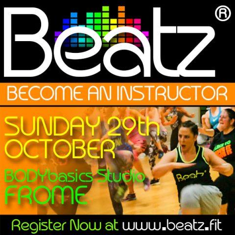 Beatz Instructor Training, 29th October in Somerset