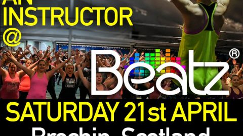 Beatz Fitness Instructor Training in Scotland, 21st April 2018