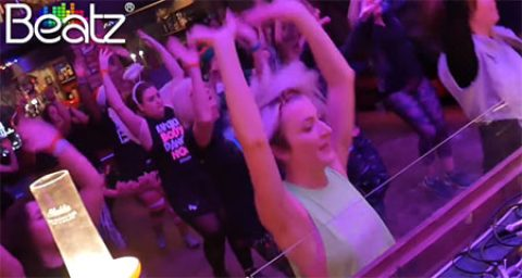 Video of the Beatz Fitness Christmas Special at The Night Owl