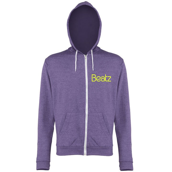 Beatz Purple Heather Hoodie