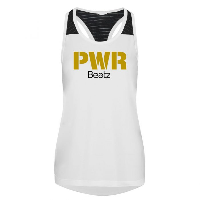 PWR Beatz White Vest