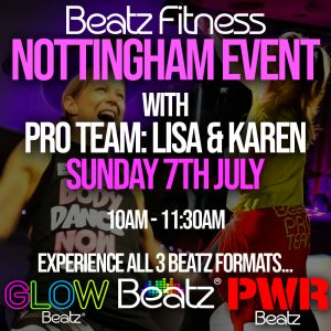 Beatz Fitness Event Nottingham