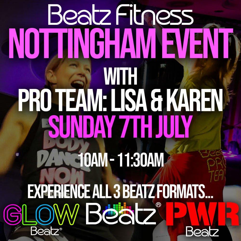 Beatz Fitness Event Nottingham