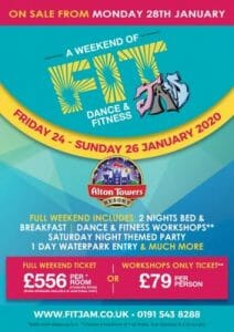 Fit Jam Alton Towers 2020